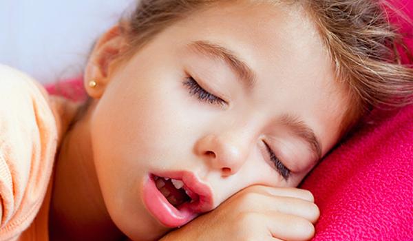 درمان نفس کشیدن با دهان در کودکان