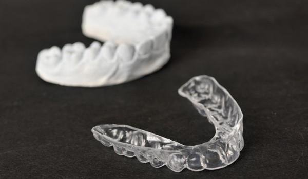 قالب دندان بعد از ارتودنسی
